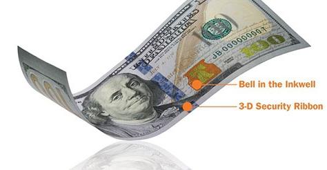 США вводят в оборот новые 100 долларов (ФОТО, ВИДЕО) | Реклама ...