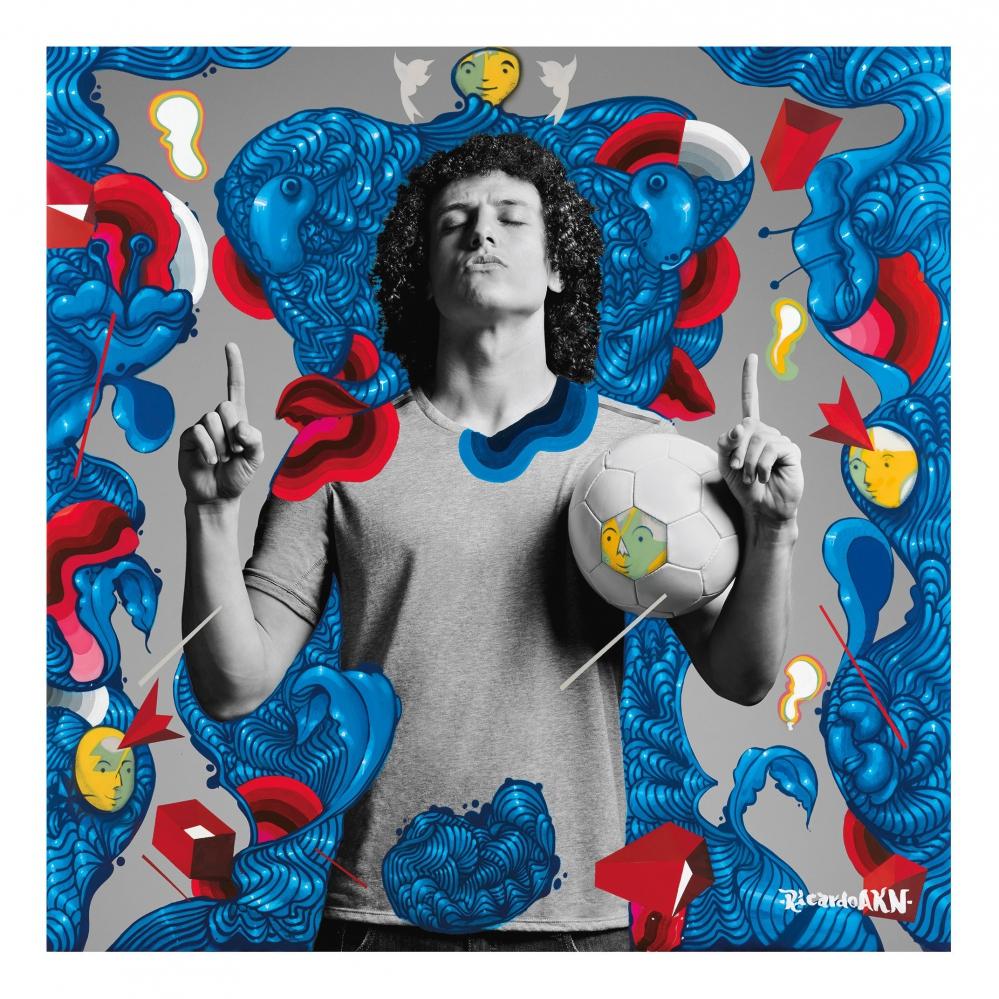 Pepsi объединила футбол и искусство