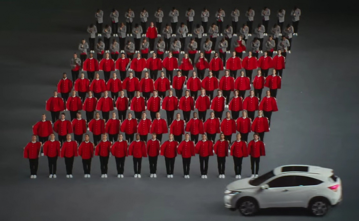 Новая кампания Honda навеяна OK Go
