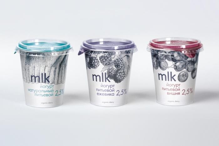 Питьевые йогурты в стаканах от Depot WPF