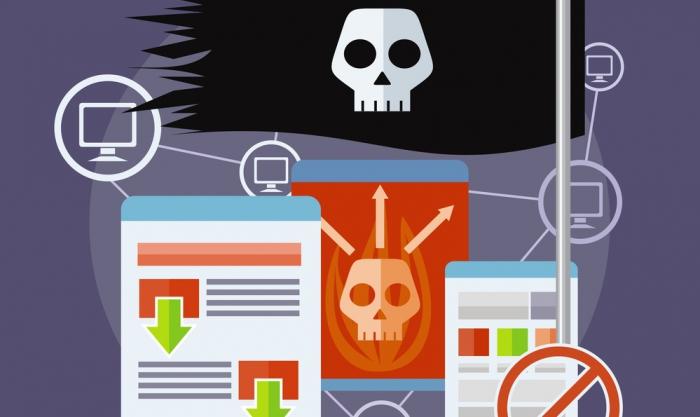 Рекламодателей накажут за связь с пиратами