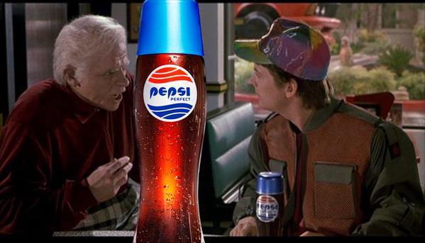 Маркетологи Pepsi вспомнили «Назад в будущее»