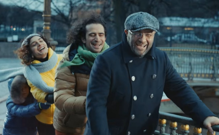 кастинг на роль итальянца рекламу актимель