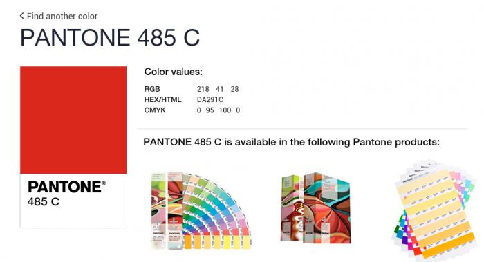 Сбербанк, «Газпром» и МТС запатентовали цвета Pantone