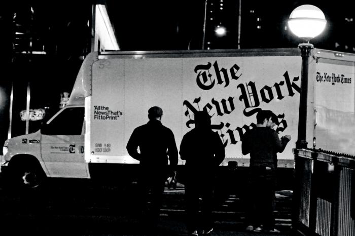 Газета New York Times займется доставкой еды читателям