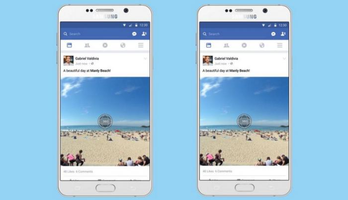 В фейсбук появится поддержка 360-градусных фотографий