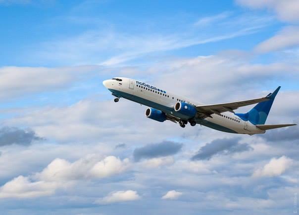 Авиакомпания «Победа» стала торговать рекламу нафюзеляже самолетов