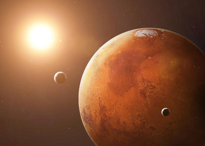 Boeing объявила оначале марсианской гонки— обогнать Илона Маска