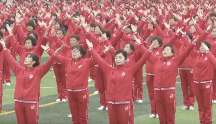 50 тыс. танцующих китайцев попали вКнигу рекордов Гиннеса