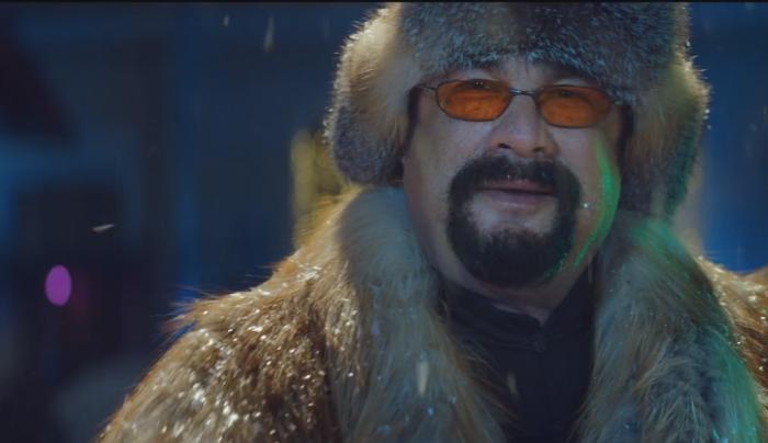 Стівен Сігал у вушанці знявся у російській рекламі