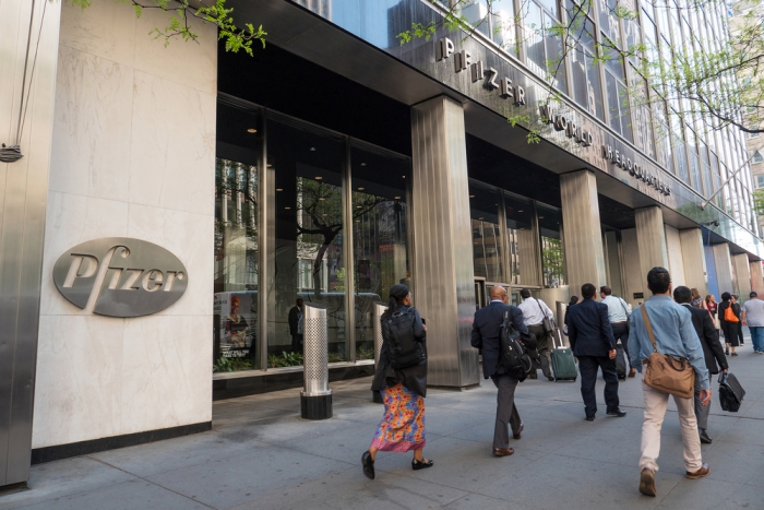 Pfizer оштрафовали на $107 млн заповышение цен налекарства на2600%