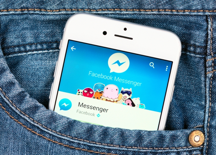 Фейсбук начал размещать рекламу всвоем Messenger