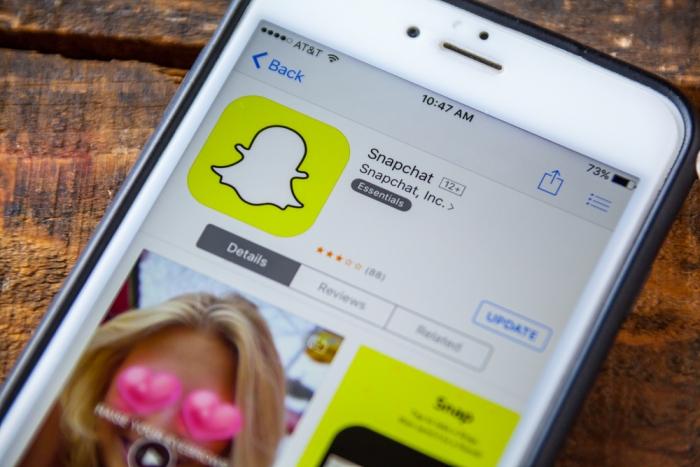 Акции владельца Snapchat увеличились на44% после первого дня торгов