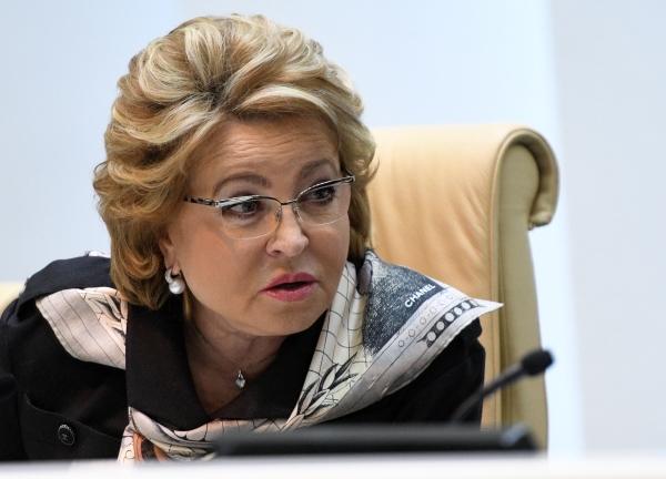 Валентина Матвиенко: нужно запретить организациям мобильной связи выдачу сим-карт через посредников