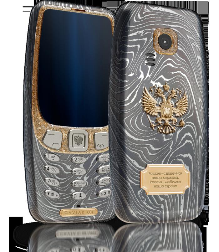 Caviar представил люксовую Nokia 3310втитане