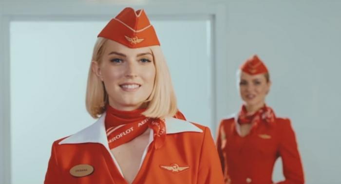 «Аэрофлот» сняла рекламный ролик с футболистами ЦСКА и красивыми стюардессами