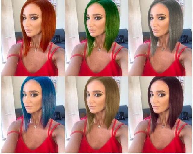 Российские «звезды» ввосторге отнового приложения Teleport, меняющего цвет волос— Инстаграм