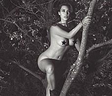 Ким Кардашьян взорвала Интернет своим свежим откровенным фото