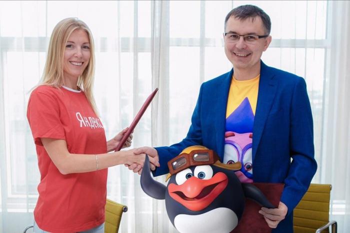 «Яндекс» расскажет детям о современных технологиях в образе персонажей «Смешариков»