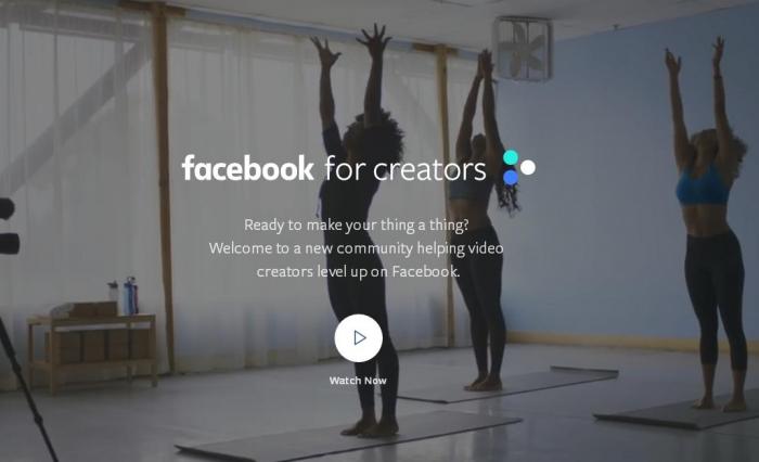 Социальная сеть Facebook выпустила приложение для видеоблогеров