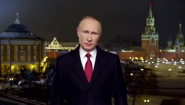 Новогоднее обращение Президента России покажут в23.55 вовсех часовых поясах
