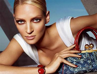 Uma Thurman - Louis Vuitton.