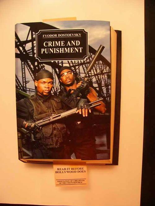 """""""Преступление и наказание"""". Прочти эту книгу раньше, чем Голливуд сделает это за тебя."""