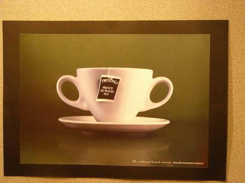 Twinings. Prince of Wales Tea. Узнаваемые уши Принца Чарльза: