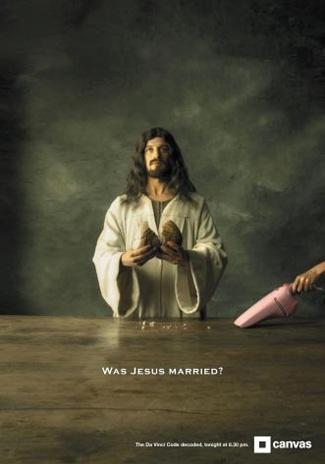 Was Jesus Married - an ad