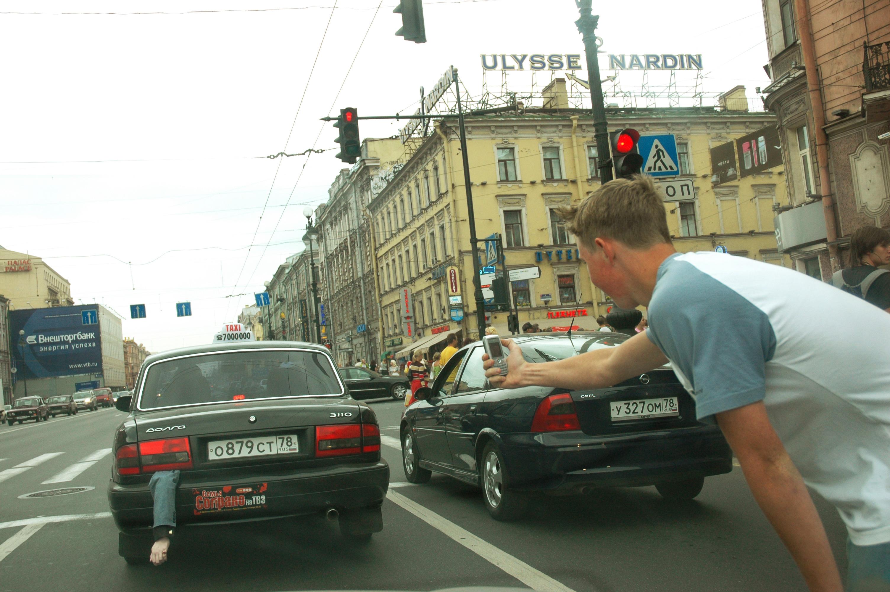 Интересное. В России запустили такси с трупами в багажнике. (5.