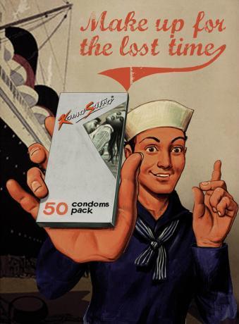 Реклама презервативов Kama Sutra от Ogilvy & Mather, Mumbai