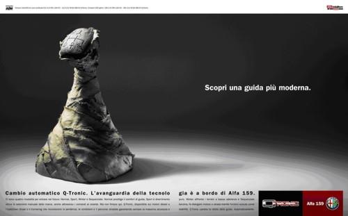 Реклама Alfa Romeo Q-Tronic