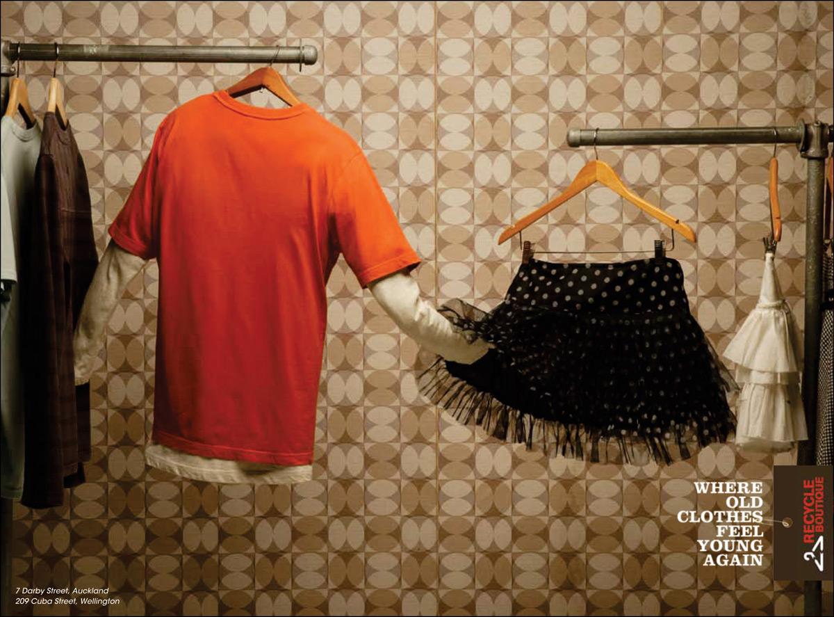 Как креатив одежды