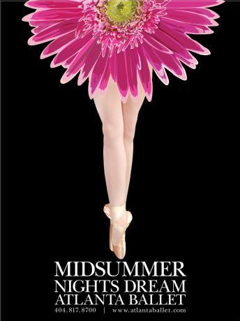 Балерина в ластах рекламирует