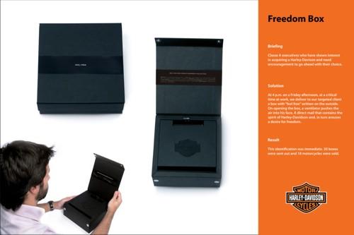 Коробка свободы от Harley-Davidson