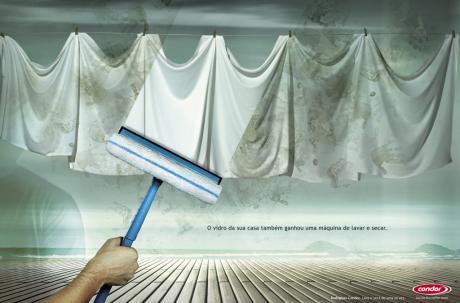 Реклама средства для чистки стёкол Condor от OpusMeltipla, Curitiba