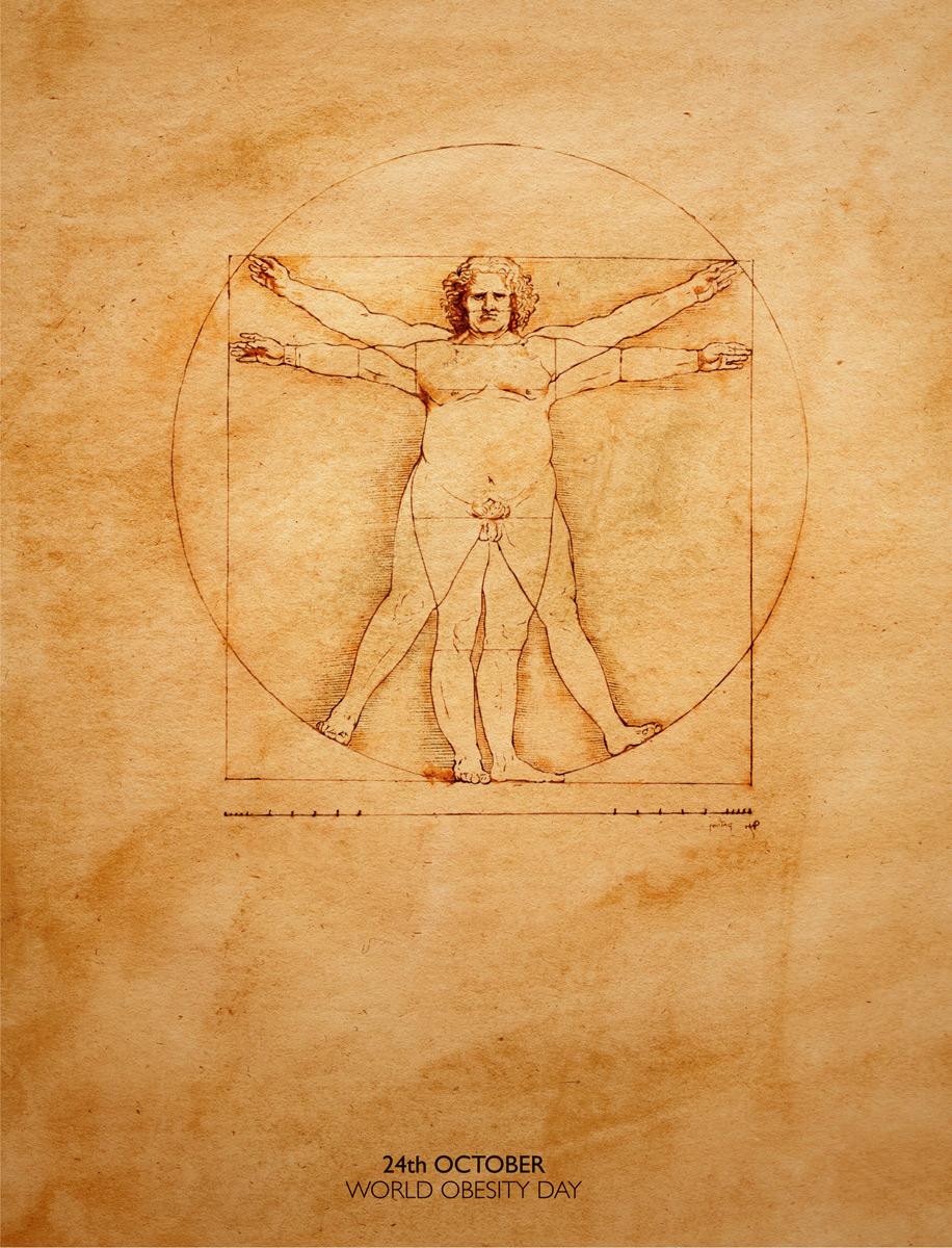 картинка леонардо да винчи человек в круге нами позволит