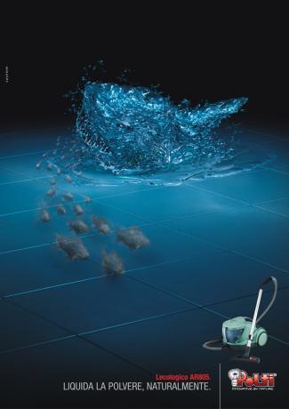 Реклама бытовой техники Polti от Cayenne, Milan