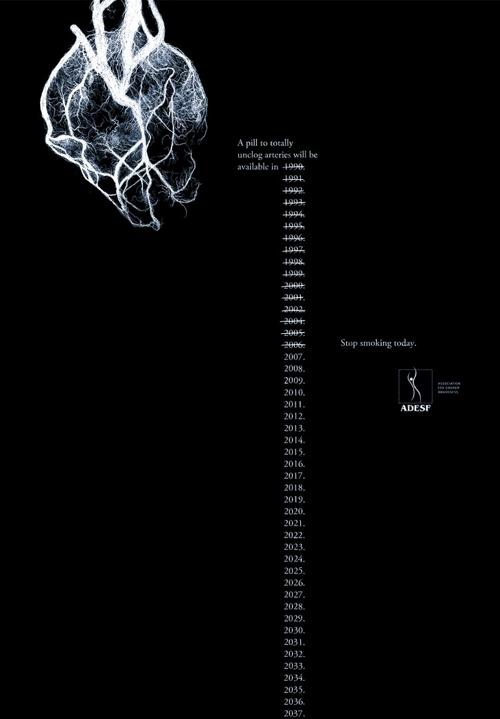 Социальная реклама против курения