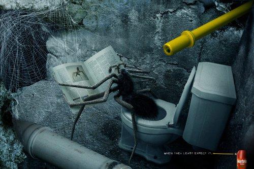Агентство Euro RSCG очеловечило муравьев в рекламе инсектицида Mortein
