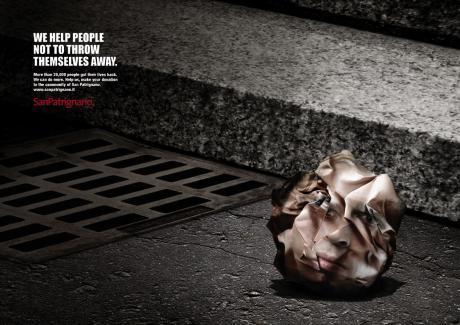 Социальная реклама от SanPatrignano