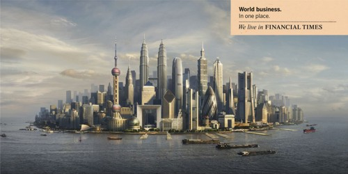 Принт  для Financial Times от DDB London