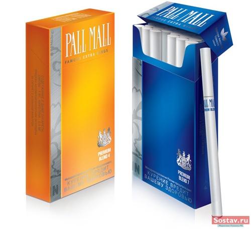 """""""Бритиш Американ Тобакко"""" запустила новый премиальный Pall Mall Premium Blend"""