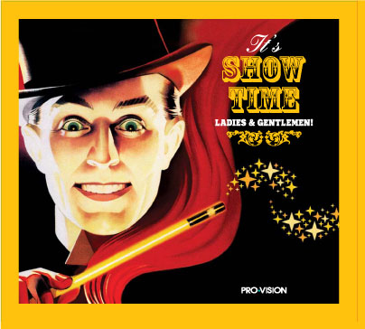 "CD ""It's show time, ladies and gentlemen"" от Pro-Vision"