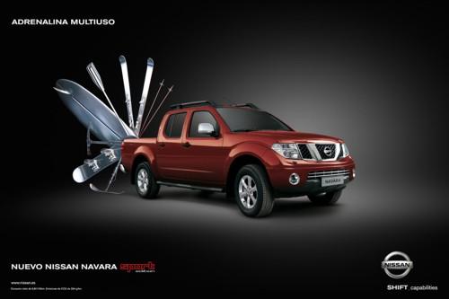 Принт для Nissan Navara от TBWA Barcelona