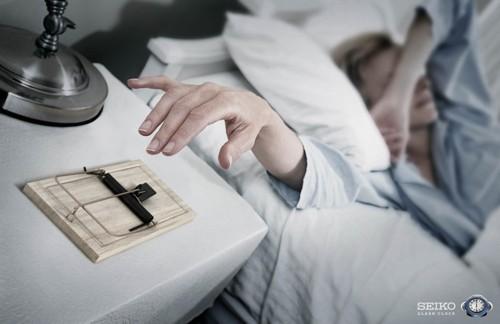 Реклама будильника Seiko