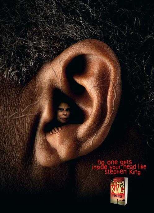 Рекламный плакат для Стивена Кинга отRazorJunior
