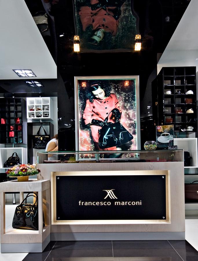 В Москве открылся первый фирменный магазин Francesco Marconi.  Он расположен на втором этаже торгового комплекса...