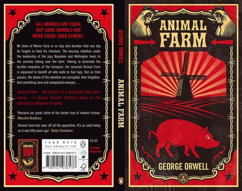 george orwell animal farm who is Animal farm, george orwell's classic social satire, is finding an unlikely new mediuman indie game based on the novel is currently in.