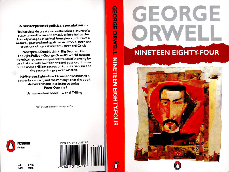 an analysis of the greatest anti utopian novel in the novel nineteen eighty four by george orwell